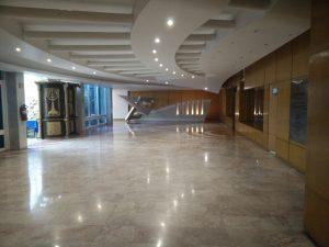 Vestíbulo del Centro Comunitario Nidjei Israel