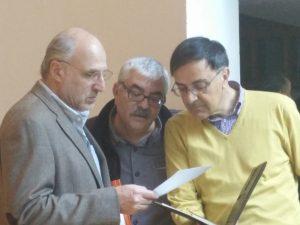 De izquierda a derecha: Pablo Yankelevich, José Antonio Zamora y Agustín Serrano