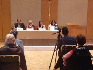 El público se mostró muy interesado ante la ponencia de la Dra. Gleizer.