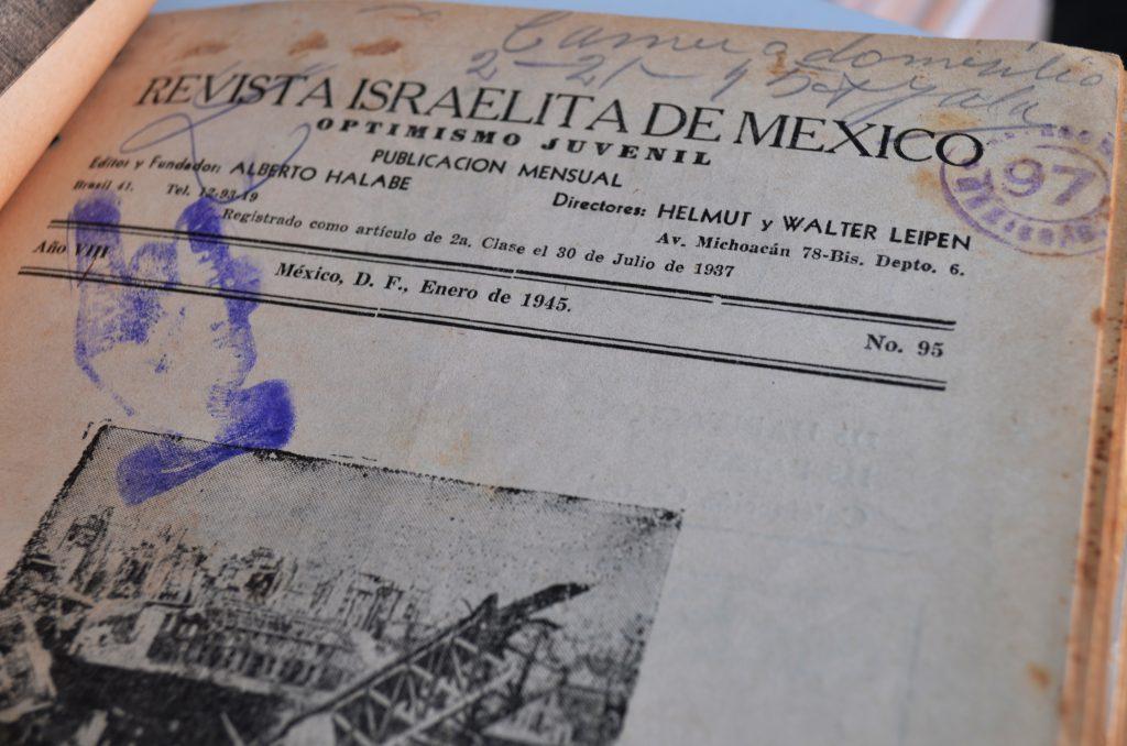 Optimismo Juvenil, enero de 1945. / Hemeroteca CDIJUM.