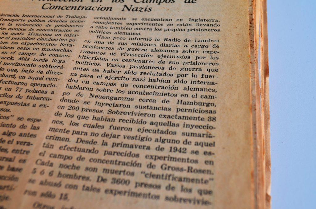 Optimismo Juvenil, enero de 1945, p. 11 / Hemeroteca CDIJUM.