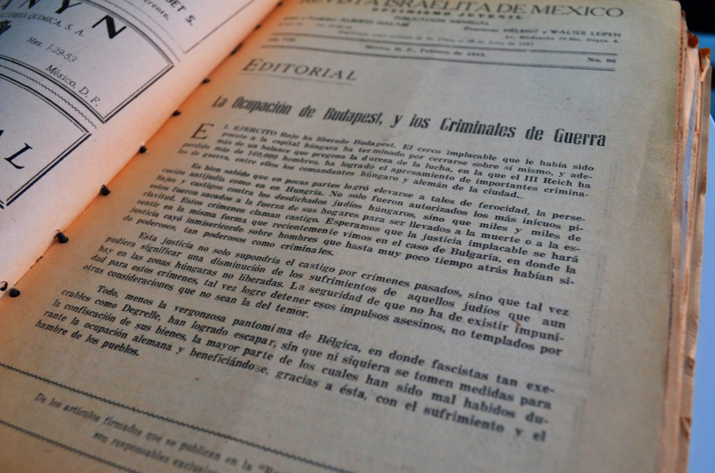 Optimismo Juvenil, febrero de 1945, p. 11 / Hemeroteca CDIJUM.