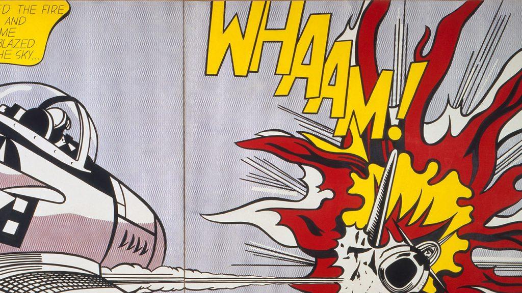 """""""Whaam"""" (1963)."""